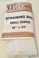 "Nylon Straining Bag 10 x 23"" Coarse Mesh Homebrew Beer Wine Cider Spirit Dry Hop"
