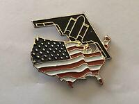 B-2 Spirit Stealth Bomber LAPEL PIN/HAT PIN USA flag design Northrup Grumman