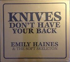 EMILY HAINES - KNIVES DON'T HAVE YOUR BACK Cd Nuevo Precintado