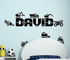 Vehicles Pictorial Wall Decals & Stickers for Children