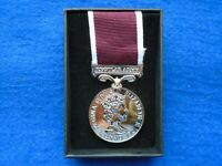 ERII ARMY LONG SERVICE & GOOD CONDUCT MEDAL FULL SIZE + PRESENTATION BOX, REPRO