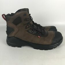 Red Wing CRV 6 Inch Leather EH Safety Toe Work Boots Men's Size 11 2E Brown 4409