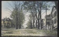 Postcard SOMERSWORTH New Hampshire/NH Prospect St Large Family Houses/Homes 1907