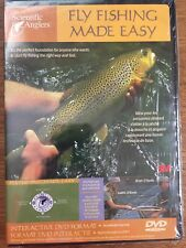New - Fly Fishing Made Easy Beginners Instructional Dvd By Scientific Anglers