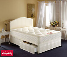Coil Spring Medium Soft Traditional Beds with Mattresses
