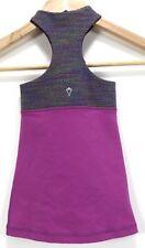 Ivivva Kid's Girls Tank Top Size 4 Fuchsia Purple
