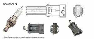 NGK NTK Oxygen Lambda Sensor OZA660-EE24 fits Peugeot 406 2.0 16V (97kw)