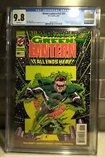 Green Lantern #50 DC CGC 9.8 NM/MT1st Kyle Rayner Green Lantern 1st Parallax