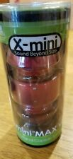 X-Mini MAX Portable Capsule Speaker new in package compact with travel bag.
