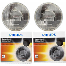Two Philips Standard Sealed Beam Light Bulb H6024C1 for H6024 PAR-56 12.8V ij