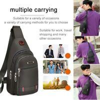 Multifunction Crossbody Bag Men Shoulder Messenger Bags Short Trip Chest Pack
