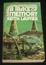 1984 Keith Laumer A Trace of Memory Cover Art by Bob Layzell 1st TOR Printing