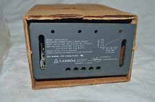 NEW LAMBDA ELECTRONICS TRIPLE OUTPUT REGULATED POWER SUPPLY LOT X 5152 A NOS