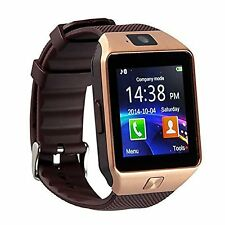Smart Watch Bluetooth For Samsung iPhone HTC LG Android IOS Wrist Phone Silver