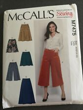 McCall's love sewing M7475 sewing pattern uncut sizes 6-22