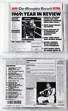 ELVIS PRESLEY The Memphis Record .. 1987 Silver Blue Japan RCA R32P-111 CD TOP