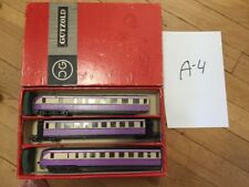 set_A_4: old DDR piko gutzold triebwagen vt 137, 3 cars, boxed