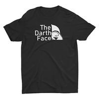 The Darth Face Star Wars Funny t shirt USA Print Meme Cotton Graphic Unisex