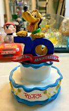 Disney Pluto 70Th Anniversary Figurine W/Box