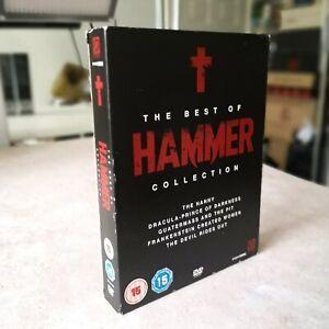 The Best Of Hammer Horror : DVD : 5 Movie Boxset.
