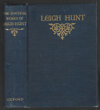 THE POETICAL WORKS OF LEIGH HUNT vghb 1923