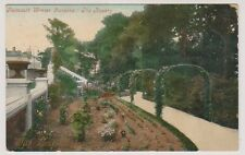 Cornwall postcard - Falmouth Winter Gardens, The Rosary - P/U 1908
