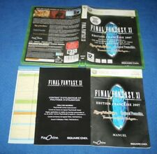 FINAL FANTASY XI BOITE ET NOTICE JEU CONSOLE XBO 360 FRANCAIS JUST BOX NO GAME