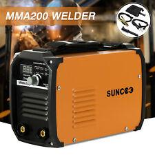 ARC Welding Machine MMA200 AMP DC Inverter IGBT Welder Mini Handheld 110V/220V