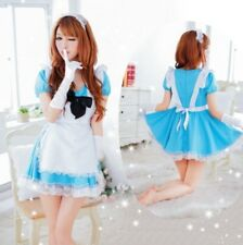 Franch Sweet Asia Maid Cosplay Fancy Dress, Party Uniform Costume, Size 8-12