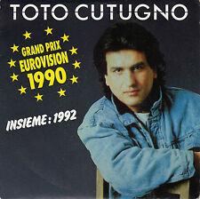 TOTO CUTUGNO INSIEME: 1992 / INSTRUMENTAL FRENCH 45 SINGLE
