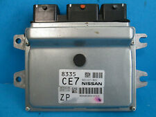 14-16 Nissan Versa Engine Computer Brain Control Module ECU ECM BEM336-300 A1 OE