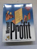 Vintage Microsoft Profit 1.0 Windows 3.1 Accounting Software NIB