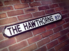 The Hawthorns Vintage Street Sign Football West Bromwich Albion Road Sign Brom