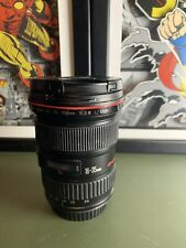 Canon EF 16-35mm f2.8 L USM Lens 16-35/2.8 Read Description
