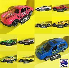 5 Cars 6.5cm Gift Set 1:87 Miniature Replica Toy Model Vehicles XMAS GMCA35501x5