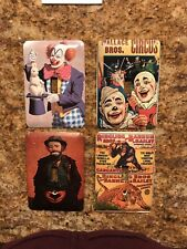 Set Of Four Circus Clown Switch Plate Covers
