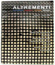 ALTREMENTI - N.0 - Giugno 2004 - ENZO MARI, Paolo VALENTE