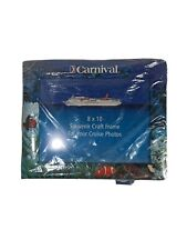 Carnival Photo Frame 8 x10 Souvenir For Cruise Photo New sold as a Set of Three