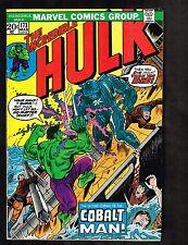 Incredible Hulk #173 ~ 1974 (7.5) vs the Cobalt Man - WH