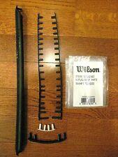 Wilson Steam 100 BLX2  Tennis Racquet Headguard and Grommet Kit - WRG713000