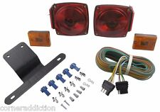 """Submersible Waterproof Under 80"""" Trailer Light Kit with 25' Wiring Harness"""