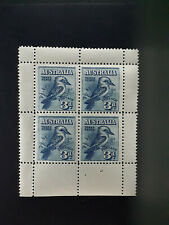 Stamps Australia pre decimal 1928 kookaburra mini sheet MNH. An opportunity !