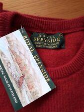 """Royal Speyside Jumper - Mens Red Size 36"""""""