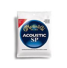 Martin Sp 92/8 Acoustic Guitar Strings - Phosphor Bronze Wound (Light