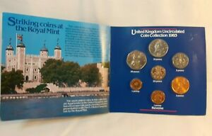 1983 Heinz Royal Mint Uncirculated Coin Collection