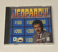 Jeopardy CD-ROM Game for Windows PC 1995 Mint Disc Big Box Vintage Rare