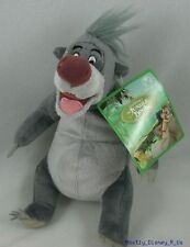 NEW Disney Store Exclusive Jungle Book Baloo Bean Bag Plush Doll