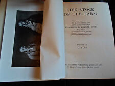 Live Stock Of The Farm CATTLE Volume II +Illustrated With Photos 1915  #2