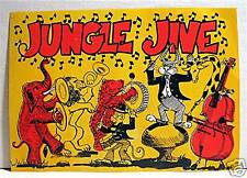 Jungle Jive Gumball Vending Machine Sign Old Stock