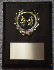 Racing, or any Other SPORT, Award Plaque 6x8 Trophy